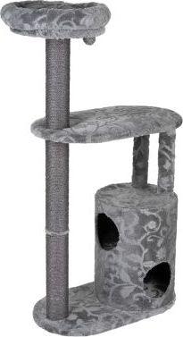 Royal Silver škrabadlo - šedá / květinový design