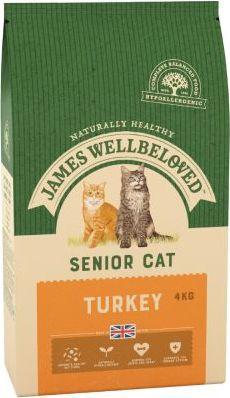 James Wellbeloved Senior Cat krůta & rýže - 4 kg